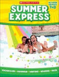 SUMMER EXPRESS (BETWEEN GRADES 7&8)