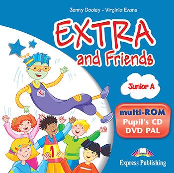 EXTRA & FRIENDS JUNIOR A MULTI-ROM (+ CD PUPIL + DVD PAL)