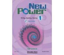 NEW POWER 1 BEGINNER STUDENT'S BOOK (+ PORTFOLIO)