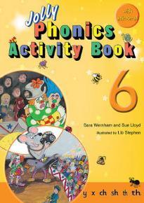 JOLLY PHONICS ACTIVITY BOOK 6 PB