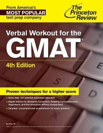 VERBAL WORKOUT FOR THE GMAT 4TH ED
