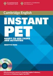 INSTANT PET STUDENT'S BOOK PACK (+ CD (2))