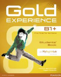 GOLD EXPERIENCE B1+ STUDENT'S BOOK (+ DVD-ROM) (+MY LAB PACK)