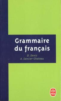 GRAMMAIRE DU FRANÇAIS PB