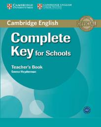 COMPLETE KEY FOR SCHOOLS TEACHER'S BOOK