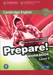 PREPARE! 5 WORKBOOK ( + ON LINE AUDIO)