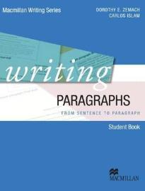 WRITING PARAGRAPHS PB
