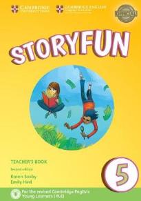 STORYFUN 5 TEACHER'S BOOK  (+ DOWNLOADABLE AUDIO) (FOR REVISED EXAM FROM 2018 - FLYERS) 2ND ED