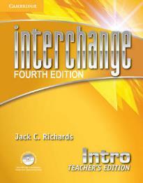 INTERCHANGE INTRO TEACHER'S BOOK  (+ CD + CD-ROM) 4TH ED