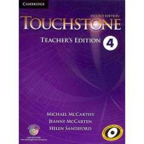 TOUCHSTONE 4 TEACHER'S BOOK  (+ CD + CD-ROM) 2ND ED