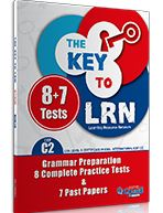 THE KEY TO LRN C2 GRAMMAR PREPARATION + 8 COMPLETE PR. TESTS + 7 PAST PAPERS STUDENT'S BOOK