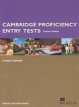 Cambridge Proficiency Entry Tests