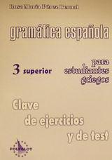 Gramática española para estudiantes griegos 3 superior