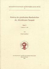 Katalog der griechischen Handschriften des Athosklosters Vatopedi
