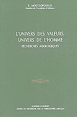 L' univers des valeurs, univers de l' homme