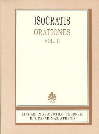 Isocratis orationes