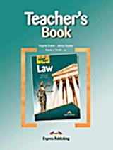 Career Paths: Law: Teacher's Book