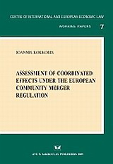 Assessment of coordinated effects under the European Community Merger Regulation