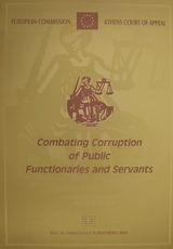 Combating Corruption of Public Functionaries and Servants