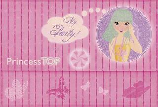 Princess Top - My party ροζ
