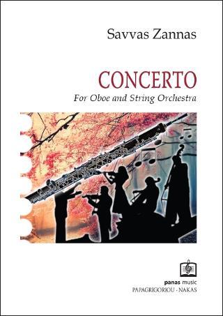 CONCERTO for Oboe & String orchestra