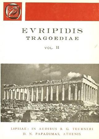 Euripidis tragoediae, vol. II (Ευριπίδου τραγωδίαι, τόμος Β')