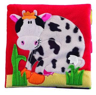 Στο αγρόκτημα, η αγελαδίτσα