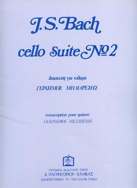 Cello Suite No 2