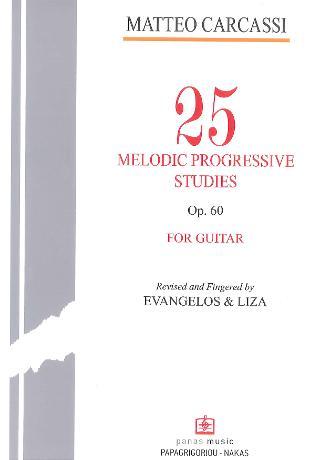 25 Melodic progressive studies op. 60