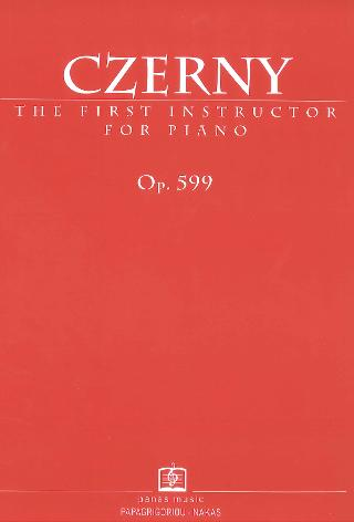 The first Instructor for piano op. 599