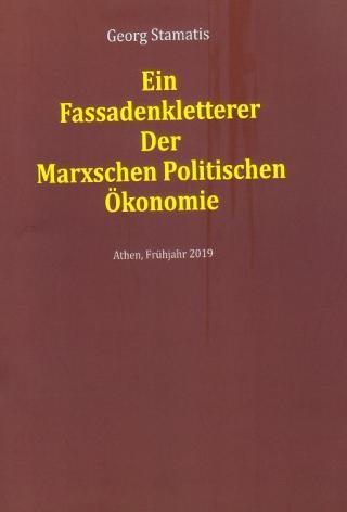 Ein Fassadenkletterer Der Marxschen Politischen Ӧkonomie
