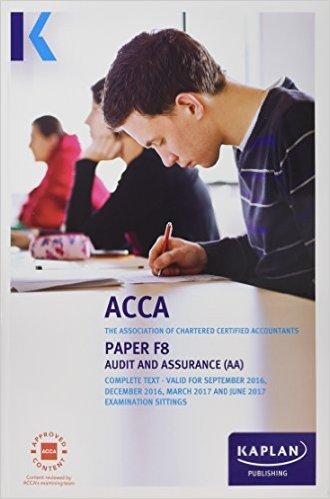 ACCA F8 AUDIT & ASSURANCE  Paperback