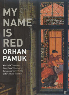 MY NAME IS RED Paperback B FORMAT