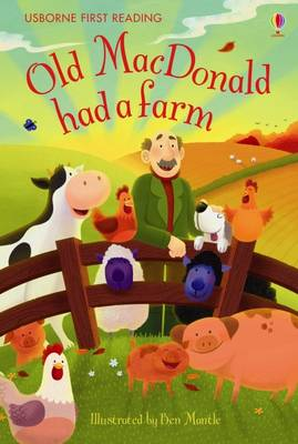 USBORNE FIRST READING 1: OLD MACDONALD HAD A FARM HC