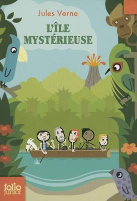FOLIO JUNIOR : L'ILE MYSTERIEUSE POCHE