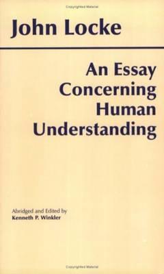AN ESSAY CONCERNING HUMAN ESSAY Paperback