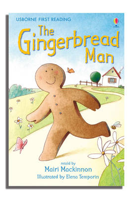 USBORNE FIRST READING 3: THE GIBNGERBREAD MAN HC