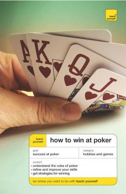 TEACH YOURSELF HOW TO WIN AT POKER Paperback B FORMAT