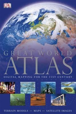 GREAT WORLD ATLAS HC COFFEE TABLE BK.