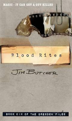 THE DRESDEN FILES 6: BLOOD RITES Paperback A FORMAT