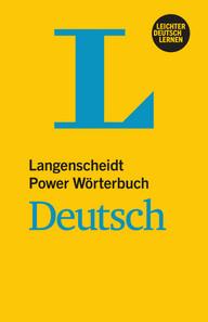 LANGENSCHEIDT POWER WORTERBUCH DEUTSCH