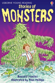 USBORNE YOUNG READING 1: STORIES OF MONSTERS (+ CD) HC