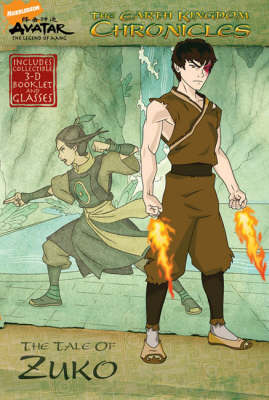 THE EARTH KINGDOM CHRONICLES THE TALE OF ZUKO AVATAR - THE LEGEND OF AANG Paperback A FORMAT