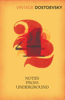 VINTAGE CLASSICS NOTES FROM UNDERGROUND Paperback B FORMAT