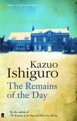 THE REMAINS OF THE DAY Paperback B FORMAT