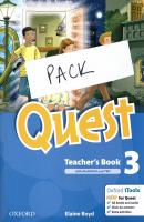 QUEST 3 TEACHER'S BOOK  PACK SPECIAL OFFER (TCHR'S STUDENT'S BOOK + TEACHER'S BOOK  WORKBOOK + TEACHER'S BOOK  GRAMMAR + TEACHER'S BOOK  COMPANION + TEACHER'S BOOK  TEST + AUDIO CD)