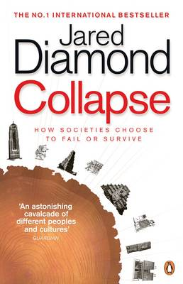 COLLAPSE HOW SOCIETIES CHOOSE TO FAIL OR SURVIVE Paperback B FORMAT