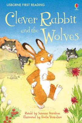 USBORNE FIRST READING 2: CLEVER RABBIT AND THE WOLVES HC