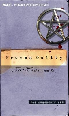 THE DRESDEN FILES 8: PROVER GUILTY Paperback A FORMAT