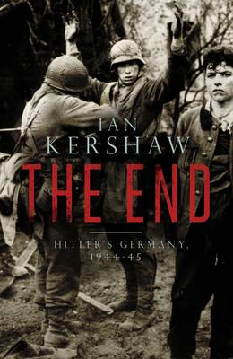 THE END (HITLER'S GERMANY 1944-45) HC COFFEE TABLE BK.